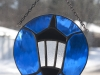 Stained glass Wellesley College lamp suncatcher
